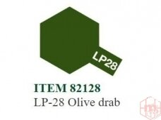 Tamiya - LP-28 Olive drab, 10ml