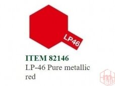 Tamiya - LP-46 Pure metallic red, 10ml