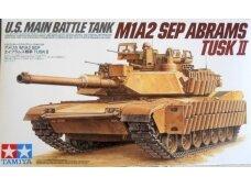 Tamiya - M1A2 SEP Abrams TUSK II, Mastelis: 1/35, 35326