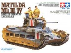 Tamiya - Matilda Mk.III/IV, Mastelis: 1/35, 35300