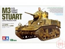 Tamiya - U.S. Light Tank M3 Stuart Late Production, Scale:1/35, 35360