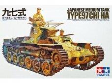 Tamiya - Japanese Medium Tank Type 97 Chi Ha, Scale:1/35, 35075