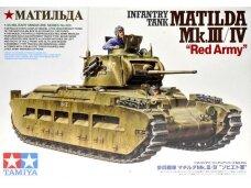 Tamiya - Matilda Mk.III/IV Red Army, Scale:1/35, 35355