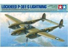 Tamiya - Lockheed P-38 F/G Lightning, Scale: 1/48, 61120