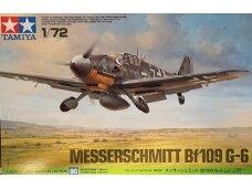 Tamiya - Messerschmitt Bf109 G-6, Mastelis: 1/72, 60790