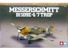 Tamiya - Messerschmitt Bf109E-4/7 Trop, Scale:1/72, 60755
