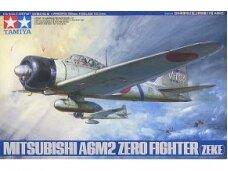 Tamiya - Mitsubishi A6M2 Zero Fighter, Mastelis: 1/48, 61016