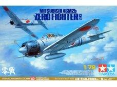 Tamiya - Mitsubishi A6M2b Zero Fighter (ZEKE), Scale: 1/72, 60780