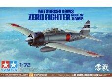 Tamiya - Mitsubishi A6M3 Zero Fighter Model 32 (Hamp), Mastelis: 1/72, 60784