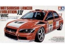 Tamiya - Mitsubishi Lancer Evo VII WRC, Mastelis: 1/24, 24257