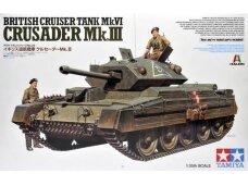 Tamiya - Mk.VI Crusader Mk.III, Scale:1/35, 37025