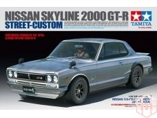 Tamiya - Nissan Skyline 2000 GT-R Street Custom, Mastelis: 1/24, 24335