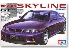 Tamiya - Nissan Skyline R33 GT-R V-Spec, Mastelis: 1/24, 24145