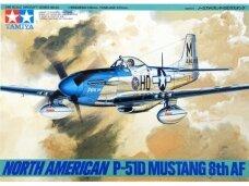 Tamiya - North American P-51D Mustang 8th AF, Mastelis: 1/48, 61040