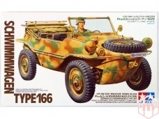 Tamiya - Schwimmwagen Type 166, Mastelis: 1/35, 35224