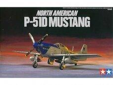 Tamiya - North American P-51D Mustang, Mastelis: 1/72, 60749