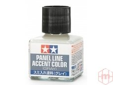Tamiya - Panel line accent color Gray, 40ml, 87133
