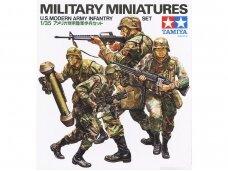 Tamiya - U.S. Modern Army Infantry Set, Mastelis: 1/35, 35133