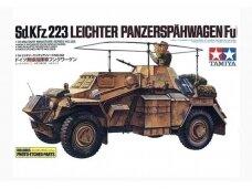 Tamiya - Sd.Kfz.223 Leichter Panzerspähwagen(Fu) Includes photo-etched parts, Mastelis: 1/35, 35268