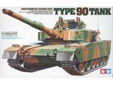 Tamiya - Japan Ground Self Defense Force Type 90 Tank, Scale: 1/35, 35208