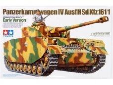 Tamiya - PanzerKampfwagen IV Ausf. H Sd.Kfz. 161/1 Early Version, Scale: 1/35, 35209