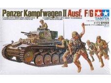Tamiya - Panzerkampfwagen II Ausf. F/G, Mastelis: 1/35, 35009