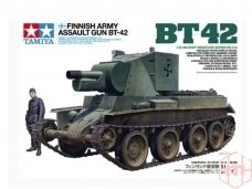 Tamiya - Finnish Army Assault Gun BT-42, 1/35, 35318