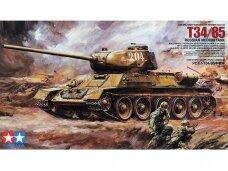 Tamiya -  T-34/85 Russian Medium tank, Mastelis: 1/35, 35138
