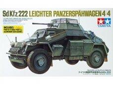 Tamiya - Sd.Kfz. 222 Leichter Panzerspähwagen (4x4), Scale:1/35, 35270