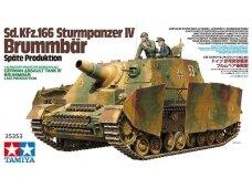 Tamiya - Sd.Kfz.166 Sturmpanzer IV Brummbär, Scale:1/35, 35353