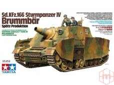 Tamiya - Sd.Kfz.166 Sturmpanzer IV Brummbär, Mastelis: 1/35, 35353