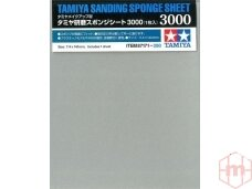 Tamiya - Sanding Sponge Sheet - 3000, 87171