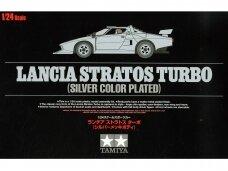 Tamiya - Lancia Stratos Turbo (Silver-plated Body), Scale: 1/24, 25418