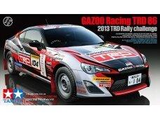 Tamiya - Toyota GAZOO Racing TRD GT86 2013 TRD Rally challenge + carbon, Mastelis: 1/24, 24337