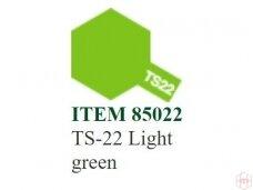 Tamiya - Purškiami dažai TS-22 Light green, 100ml
