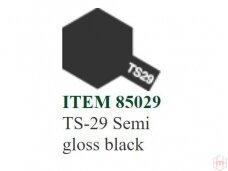 Tamiya - TS-29 Semi gloss black, 100ml