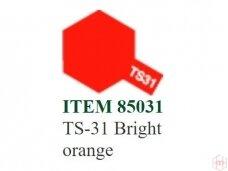 Tamiya - TS-31 Bright orange, 100ml