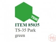 Tamiya - Purškiami dažai TS-35 Park green, 100ml
