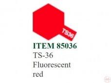 Tamiya - TS-36 Fluorescent red, 100ml