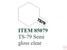 Tamiya - TS-79 Semi gloss clear, 100ml