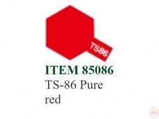 Tamiya - TS-86 Pure red, 100ml