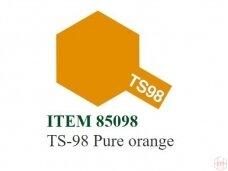 Tamiya - TS-98 Pure orange, 100ml