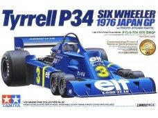 Tamiya - Tyrrell P34 1976 Japan GP su fotoėsdintimis detalėmis, Mastelis: 1/20, 20058