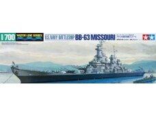 Tamiya - U.S. Battleship Missouri, Mastelis: 1/700, 31613