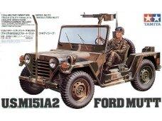 Tamiya - US M151A2 Ford Mutt, Mastelis: 1/35, 35123