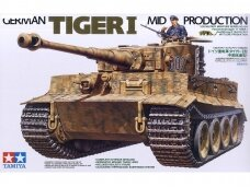Tamiya - German Tiger I Mid Production, 1/35, 35194