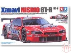 Tamiya - Xanavi Nismo GT-R(R34), 1/24, 24268