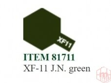 Tamiya - XF-11 J.N. green, 10ml