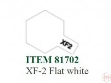 Tamiya - XF-2 Flat white, 10ml