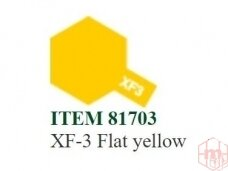 Tamiya - XF-3 Flat yellow, 10ml